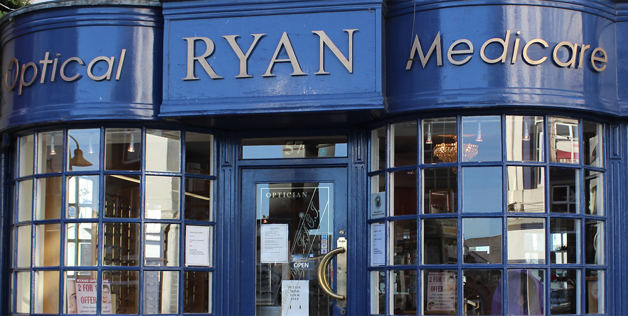 Ryan's Opticians Clinic in Wexford Town